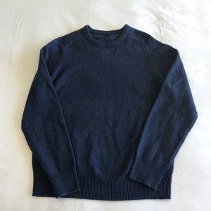 J. CREW Lambswool Sweater Blue Men Size M